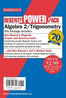 Algebra 2/Trigonometry Power Pack By Clemens, Meg/ Clemens, Glenn/ Waldner, Bruce C.